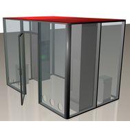 Кабина офисная для курения ArtSV ВК12 3,5х2х2,4м, фото 1