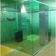 Кабина офисная для курения, стекло ArtSV ВСК10 3х2х2,4м, фото 1