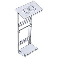 Рама монтажная вертикальная рама для ПВУ-350,500, фото 1