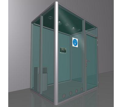 Кабина офисная для курения ArtSV ВК-БФ10 3х2х2,4м, фото 1