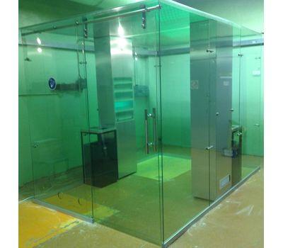 Кабина офисная для курения, стекло ArtSV ВСК12 3,5х2х2,4м, фото 1