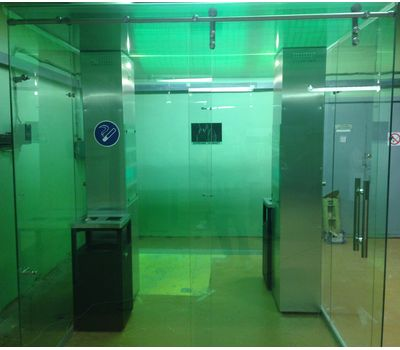 Кабина офисная для курения, стекло ArtSV ВСК12 3,5х2х2,4м, фото 4