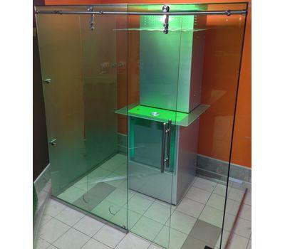 Кабина офисная для курения, стекло ArtSV ВСК6 2х2х2,4м, фото 1