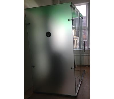 Кабина офисная для курения, стекло ArtSV ВСК4 1,5х2х2,4м, фото 2