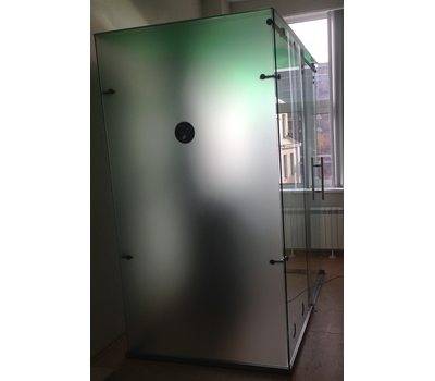 Кабина офисная для курения, стекло ArtSV ВСК6 2х2х2,4м, фото 2