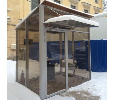 Уличная кабина для курения ArtSV УК-БФ8 2,5х2х2,8м, фото 1