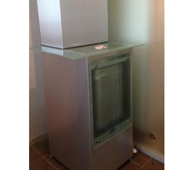 Кабина офисная для курения, стекло ArtSV ВСК10 3х2х2,4м, фото 3