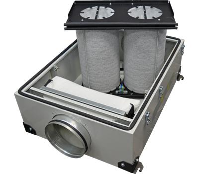 Очиститель воздуха канальный VentMachine ФКО-600 LED автономный, фото 4