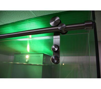 Кабина офисная для курения, стекло ArtSV ВСК6 2х2х2,4м, фото 5